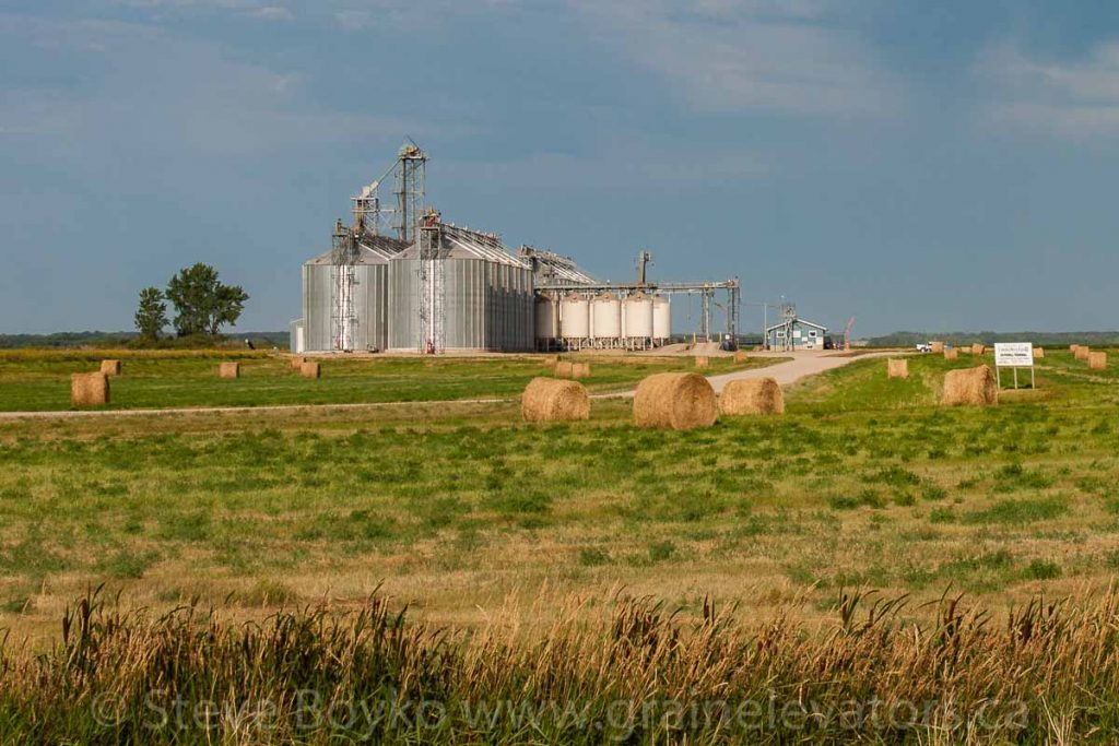 Louis Dreyfus facility in Rathwell, MB, Aug 2014. Contributed by Steve Boyko.