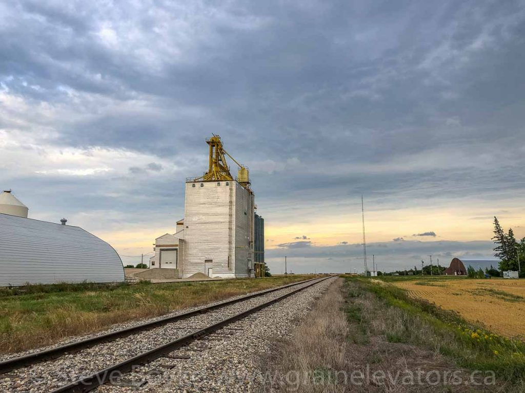 The Ninga grain elevator, Aug 2019. Contributed by Steve Boyko.