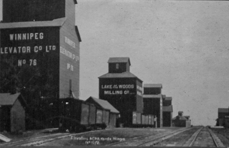 Ninga grain elevators, early 1900s.