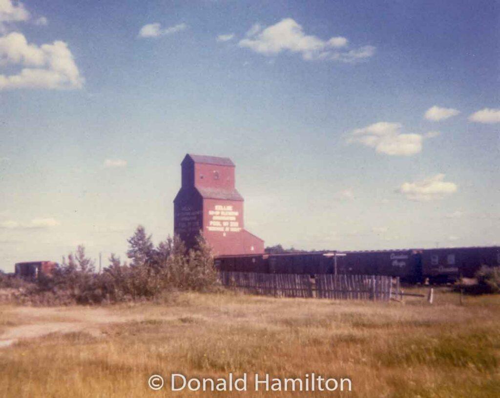 "Kelloe ""A"" grain elevator, 1967. Copyright by Donald Hamilton."