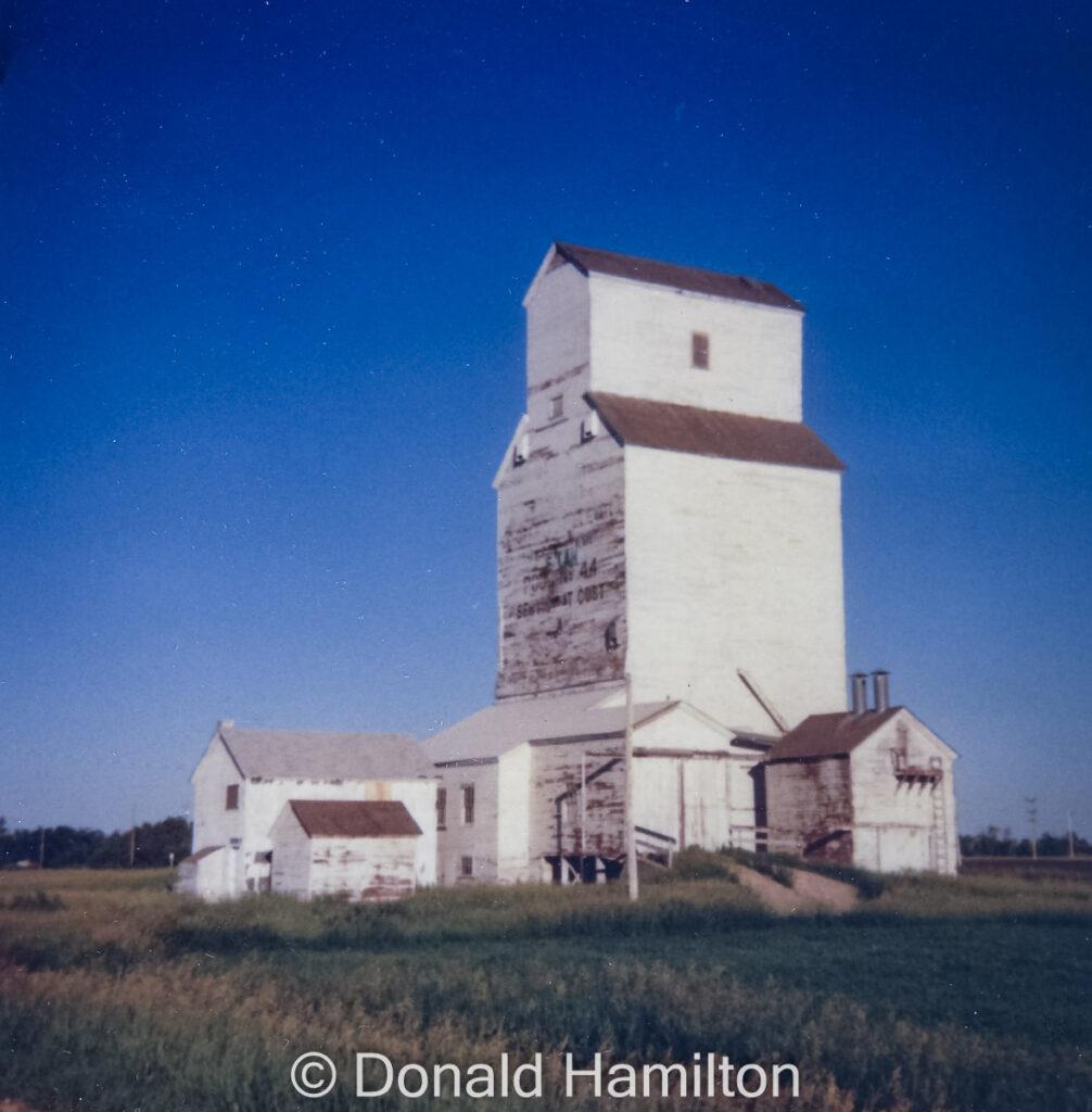 Beulah Cooperative Elevator Association No 44, 1990, copyright by Donald Hamilton