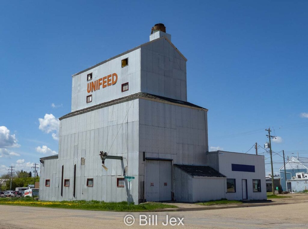 Unifeed mill in Bashaw, AB, May 2013. Contributed by Bill Jex.