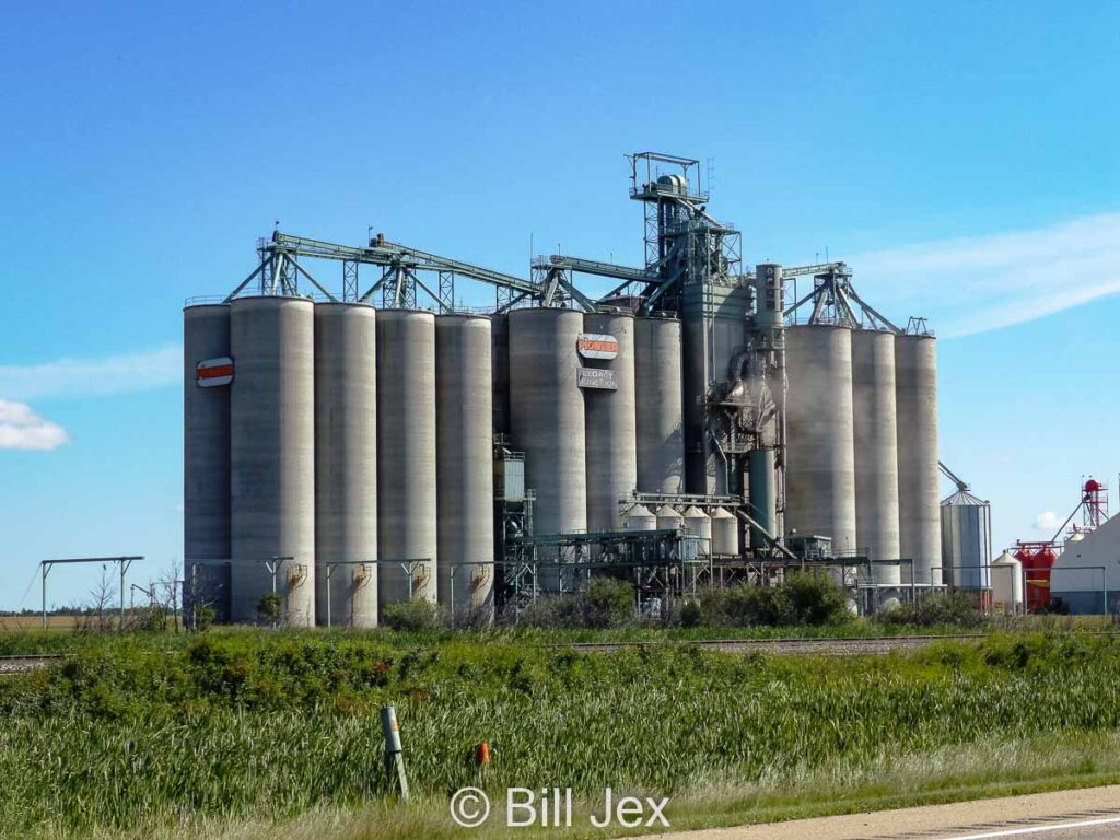Richardson Pioneer terminal near Ohaton, AB, Aug 2014. Contributed by Bill Jex.