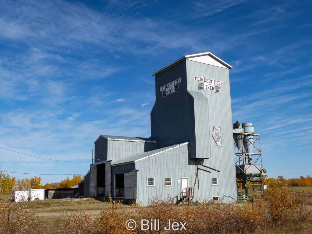 Flinkert Feed and Seed in Vilna, AB, Oct 2014. Contributed by Bill Jex.