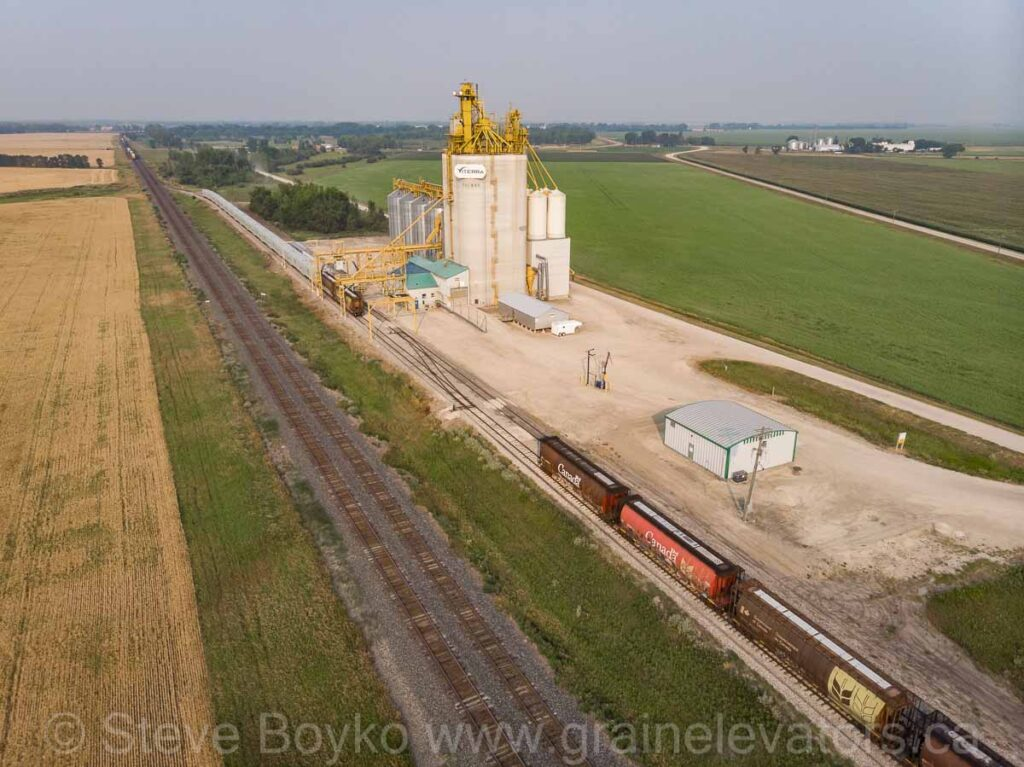 The Tucker grain elevator, Aug 2021. Contributed by Steve Boyko.